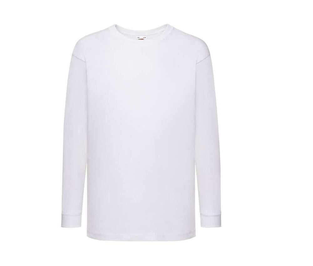 FRUIT OF THE LOOM SC6107 - Tee-shirt manche longue enfant