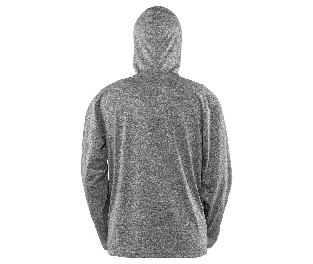 Spiro SP277M - T-Shirt De Sport Zippé À Capuche Homme