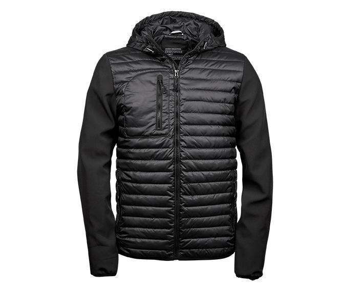 Tee Jays TJ9628 - Hooded crossover jacket Men