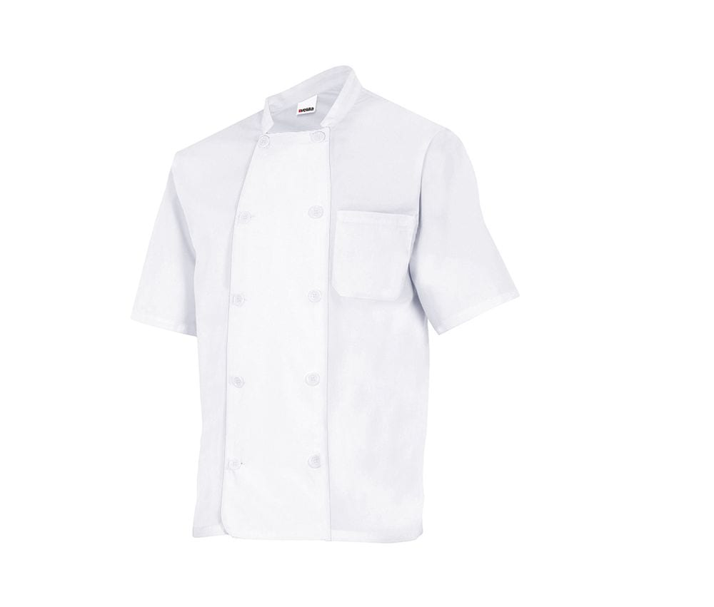 VELILLA VL432 - SHORT-SLEEVED CHEF'S JACKET