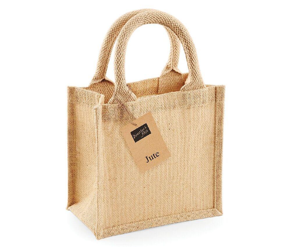 Westford mill WM411 - Small burlap gift bag