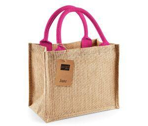 Westford mill WM412 - Jute Mini Gift Bag