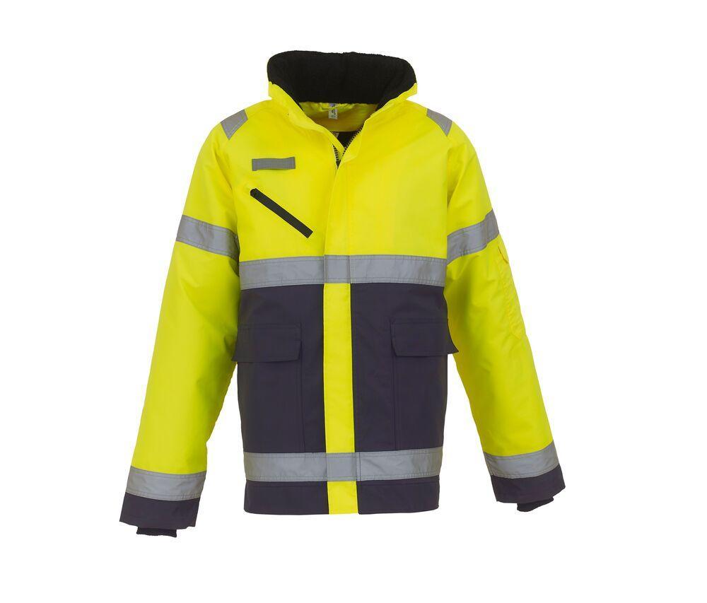 "Yoko YK309 - High visibility ""Fontaine Storm"" jacket"