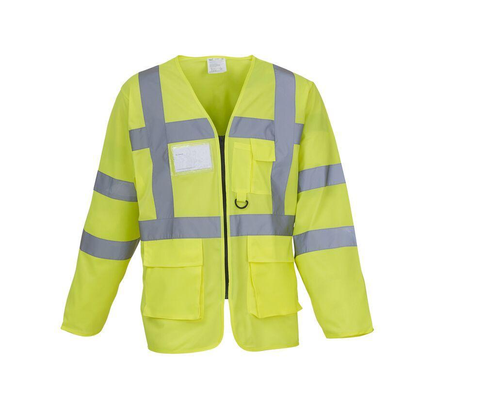 Yoko YK800 - Long sleeve multi-pocket safety jacket