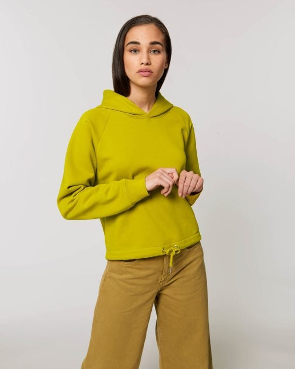StanleyStella STSW132 Le sweat shirt capuche court femme