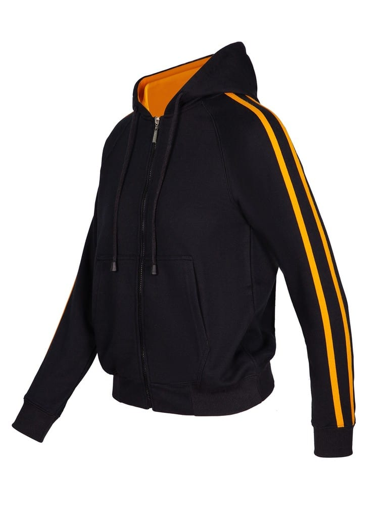 Ramo F600UN - Ladies/Junior stripe sleeves Hoodies