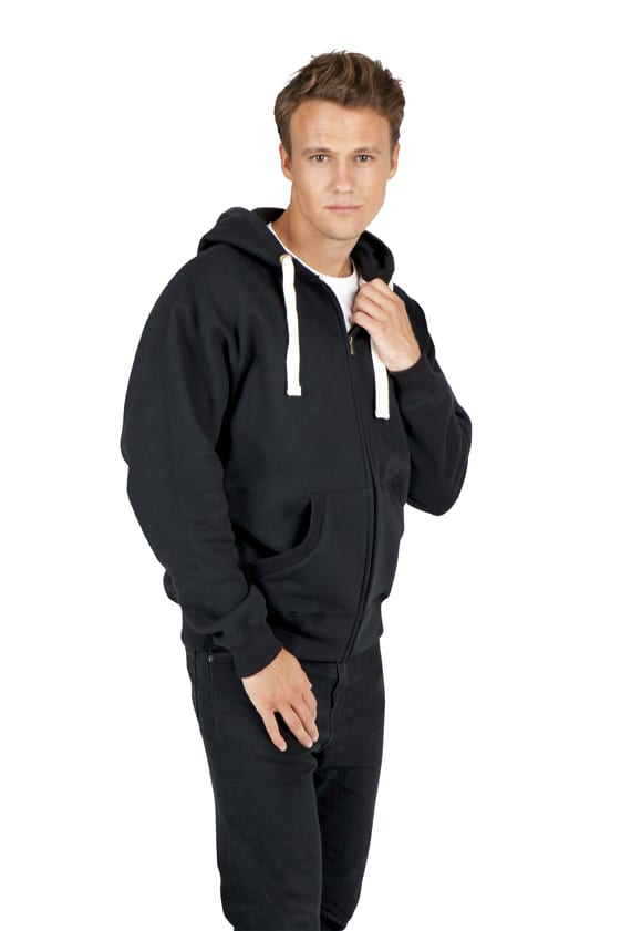 Ramo F909HZ - Mens Brushed Heavy Zip Fleece Hoodie