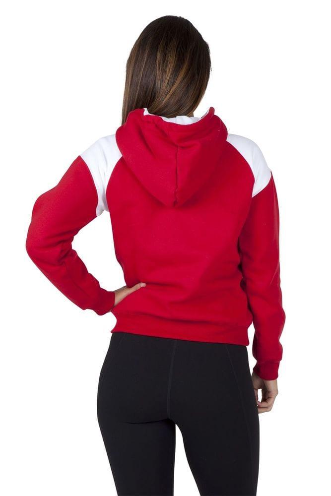 Ramo FZ33UN - Ladies/Juniors Shoulder Contrast  ZIP Hoodie