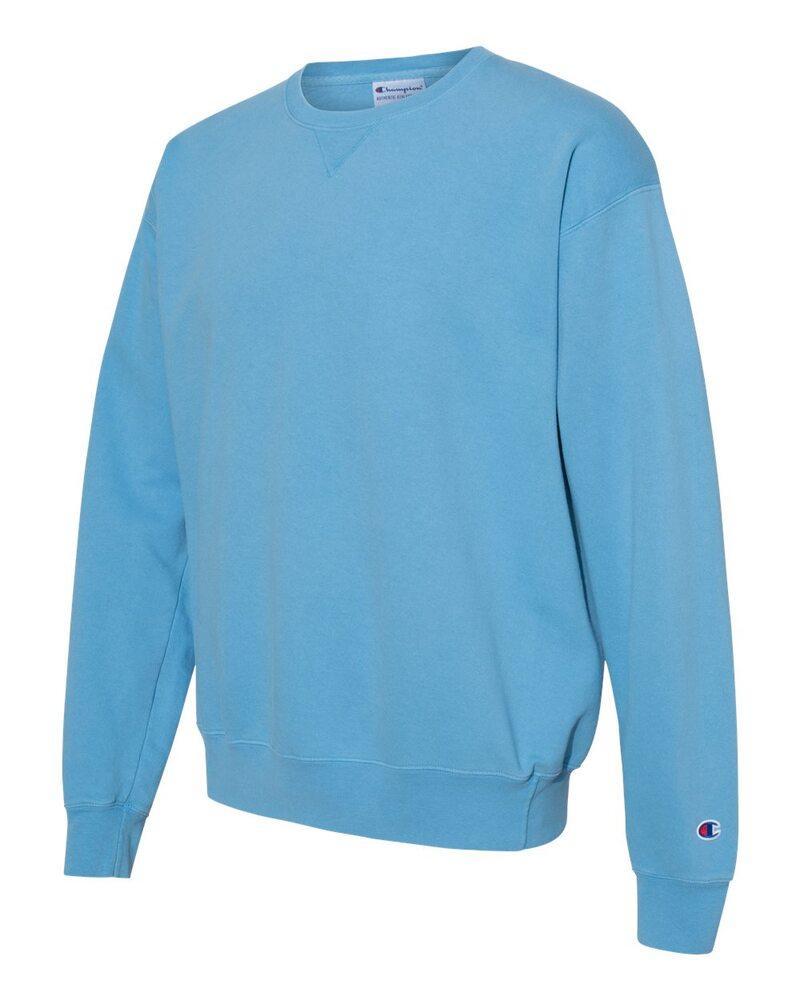 Champion CD400 - Adult Garment Dyed Fleece Sweatshirt