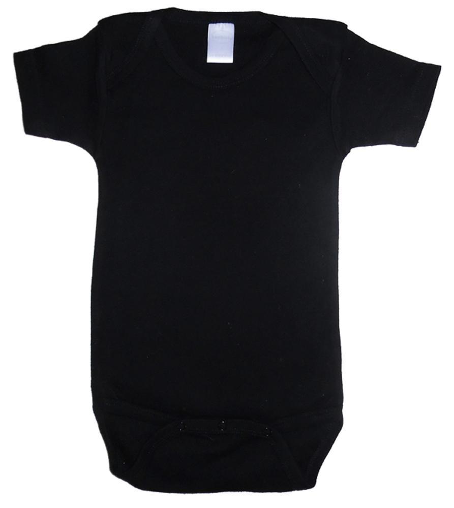 Infant Blanks 0010BL - Interlock Short Sleeve Bodysuit Onezies