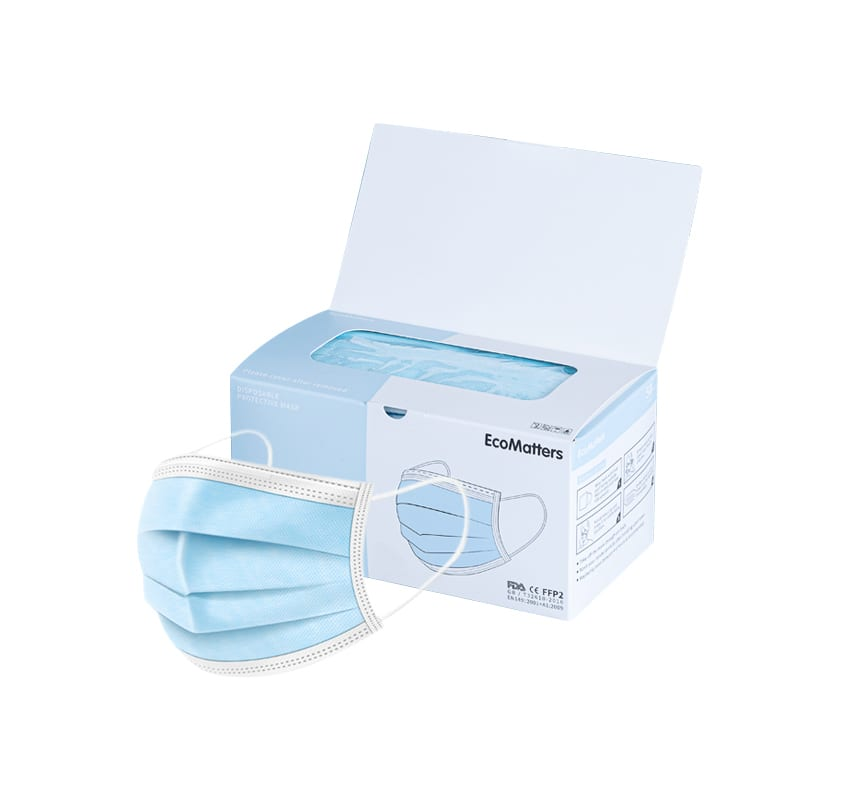 Maskers 3-ply - Wegwerp beschermingsmaskers met 3 lagen