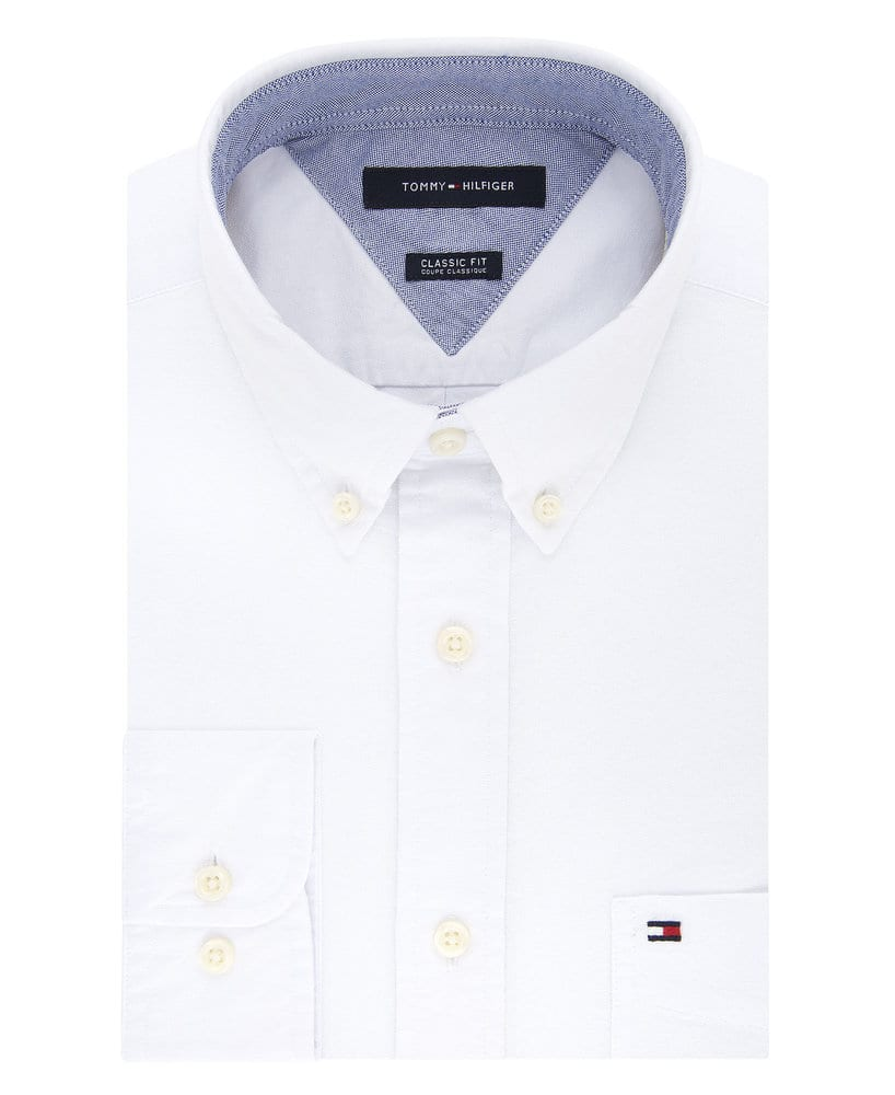 Tommy Hilfiger 13H1864 - Men's New England Oxford Dress Shirt