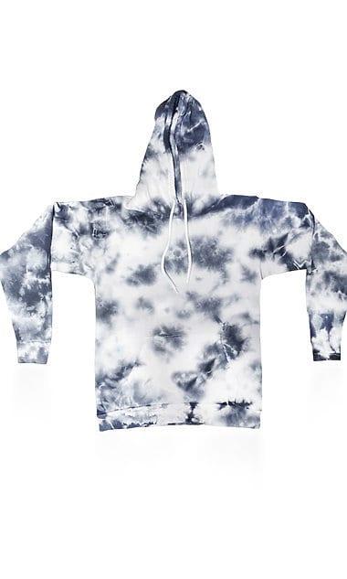 Royal Apparel 3555ctd - Unisex Cloud Tie Dye Pullover Hoodie