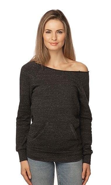 Royal Apparel 37120 - Women's eco Triblend Fleece Raglan w/Pouch Pocket