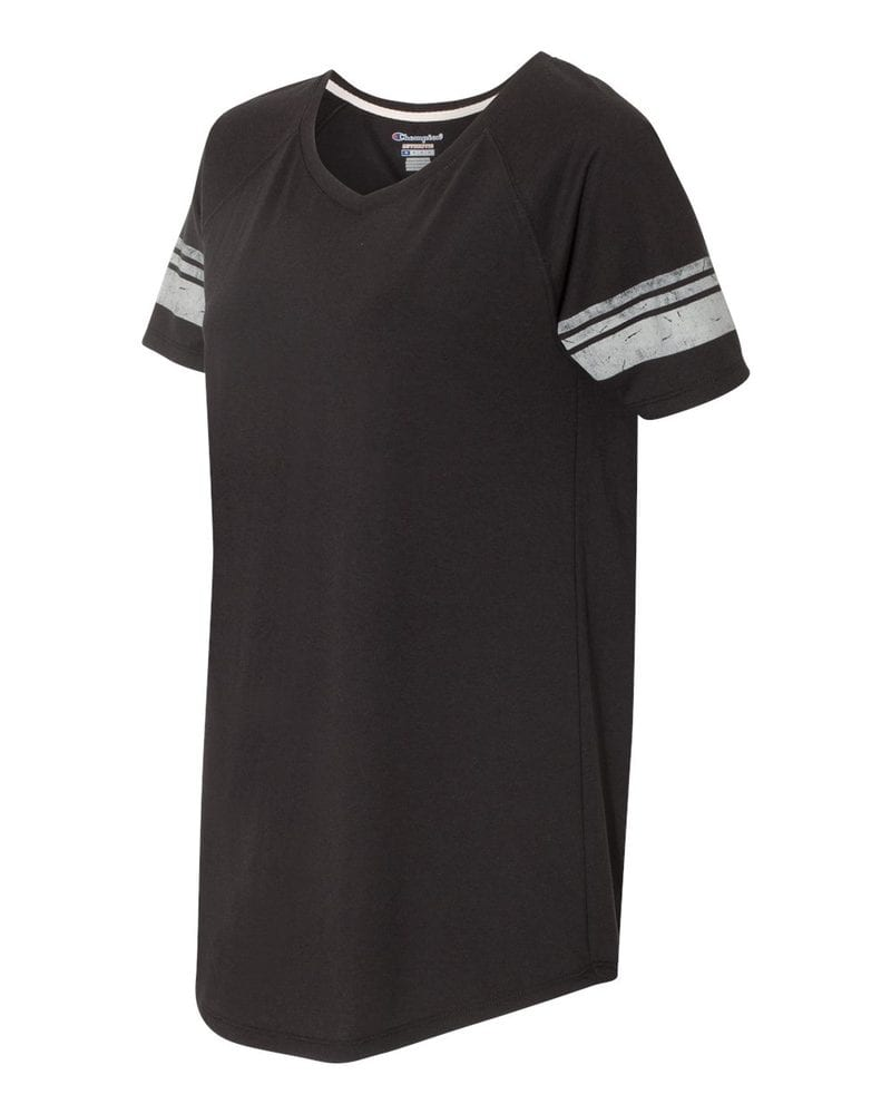 Champion AO350 - Women's Triblend Varsity T-shirt