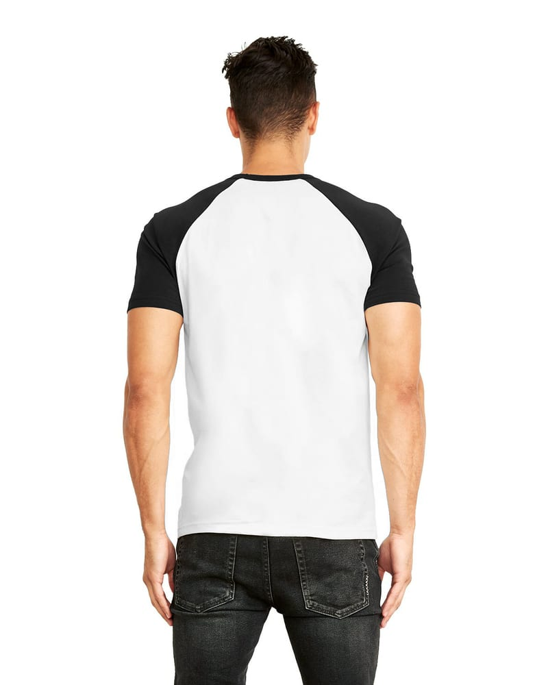 Next Level 3650 - Cotton Raglan Tee
