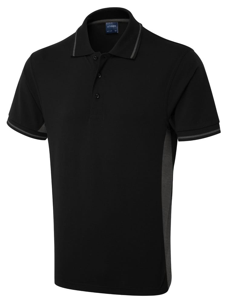 Uneek Clothing UC117 - Two Tone Polo Shirt