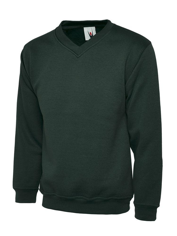 Uneek Clothing UC206 - Childrens V Neck Sweatshirt