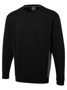 Uneek Clothing UC217 - Sweat shirt Two Tone Crew New