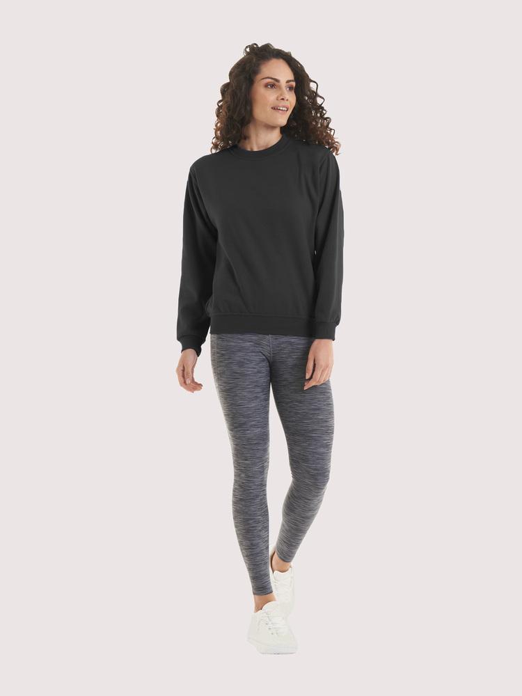 Uneek Clothing UC511 - Ladies Deluxe Crew Neck Sweatshirt