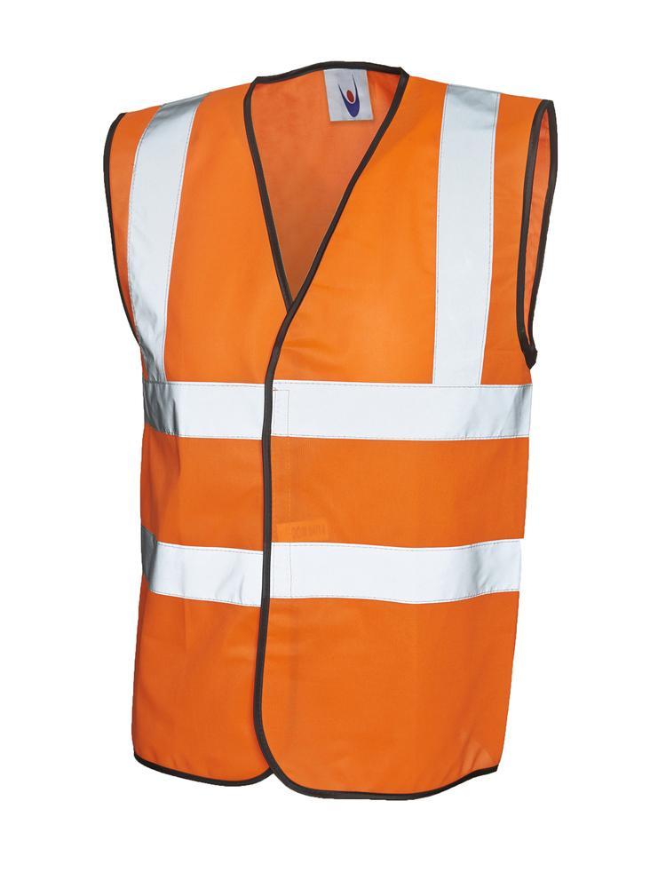 Uneek Clothing UC801 - Sleeveless Safety Waist Coat