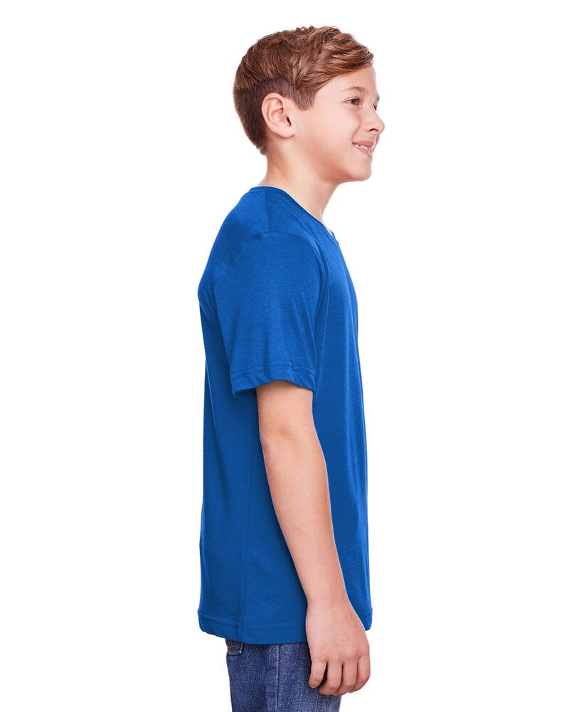 Core 365 CE111Y - Youth Fusion ChromaSoft Performance T-Shirt