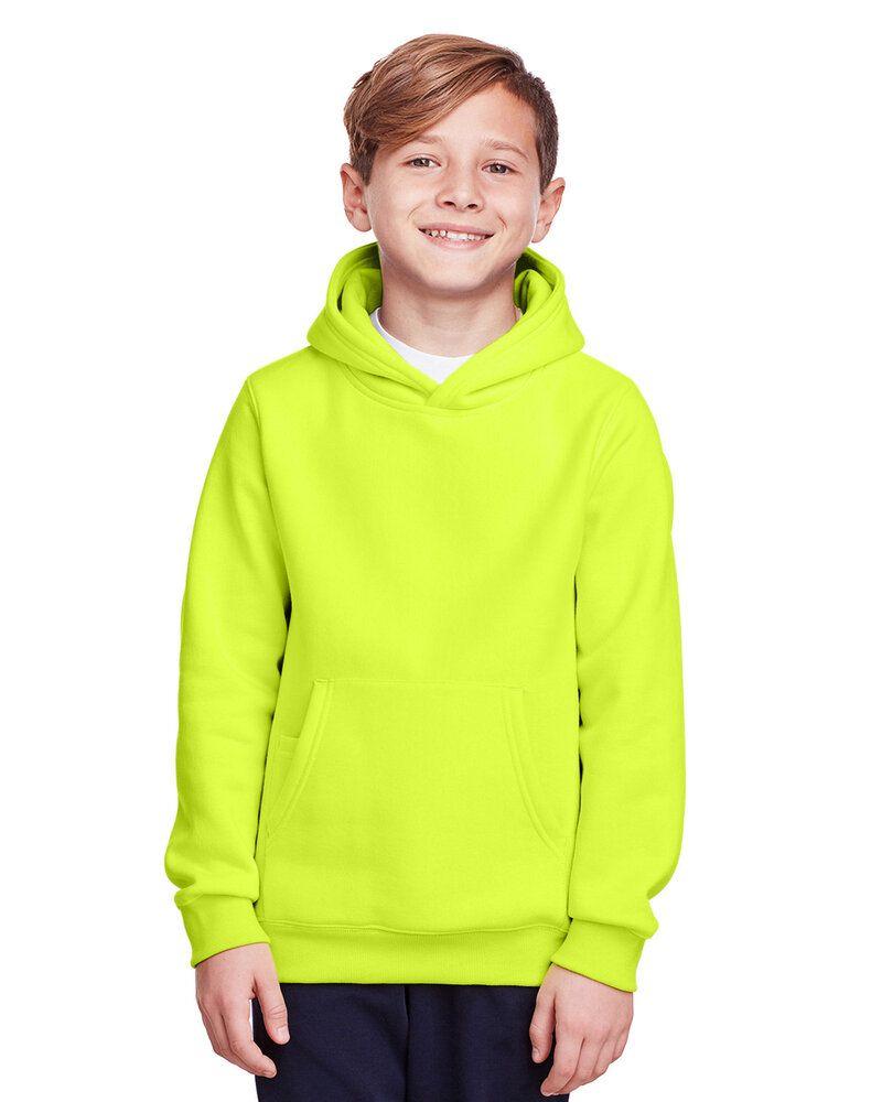Team 365 TT96Y - Youth Zone HydroSport Heavyweight Pullover Hooded Sweatshirt