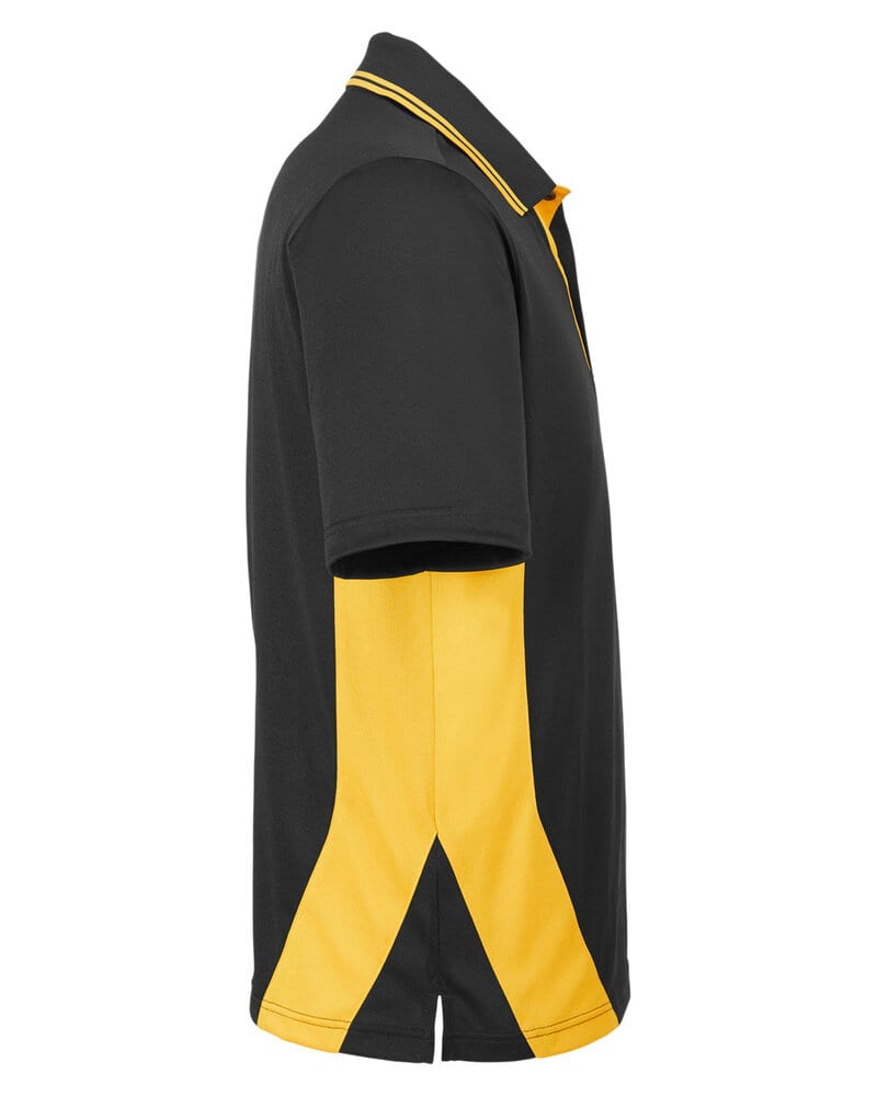 Harriton M386T - Men's Tall Flash Snag Protection Plus IL Colorblock Polo