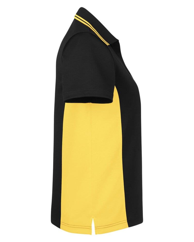 Harriton M386W - Ladies Flash Snag Protection Plus IL Colorblock Polo