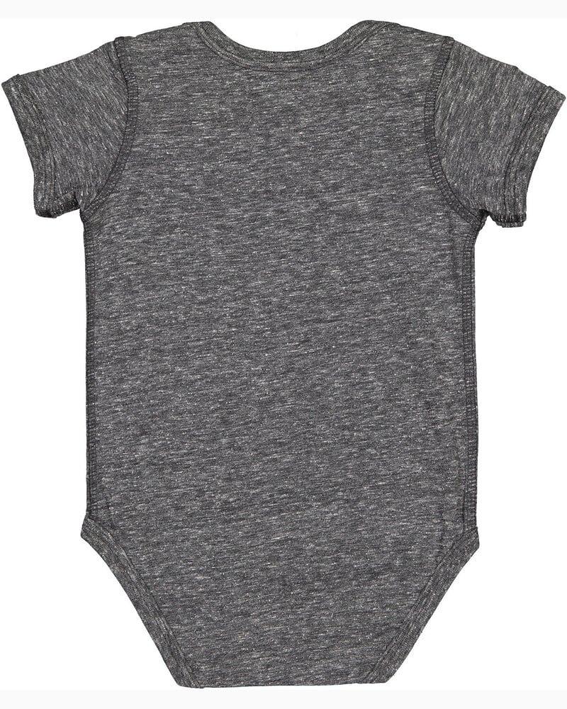 Rabbit Skins 4491 - Infant Harborside Melange Jersey Bodysuit