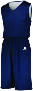 Russell 5R8DLB - Youth Undivided Solid Single Ply Reversible Shorts