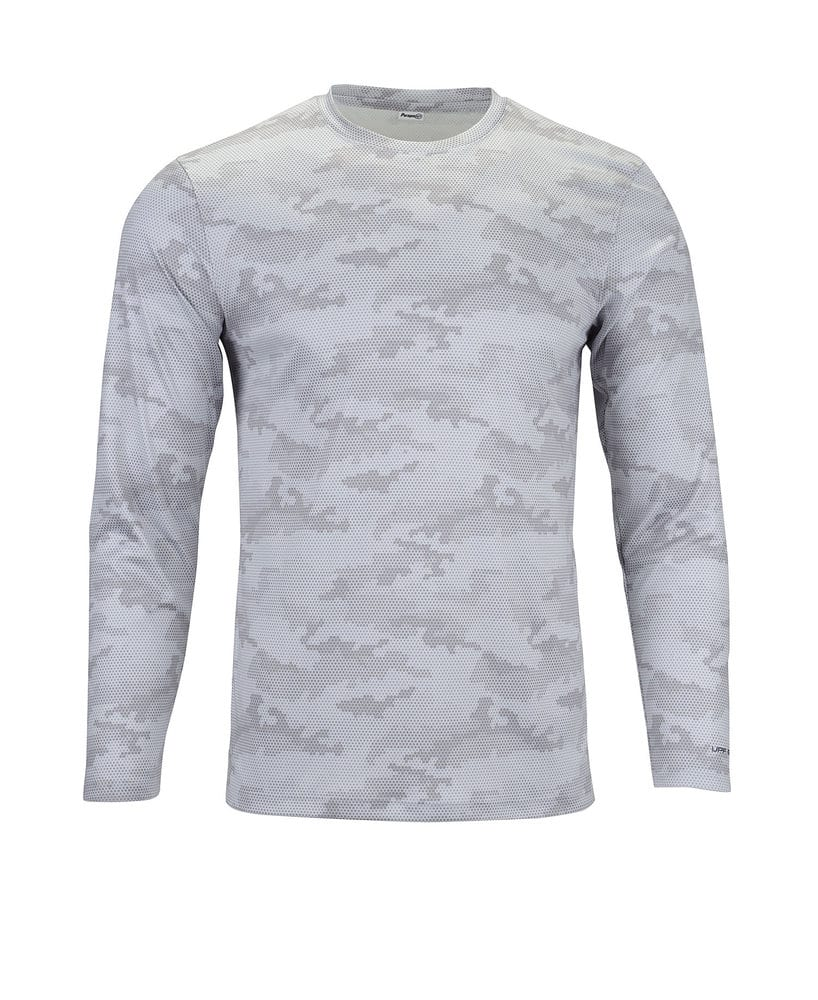 Paragon SM0217 - ParagonXP Pompano Adult Full Sublimated Long Sleeve Performance Tee  Camo Print