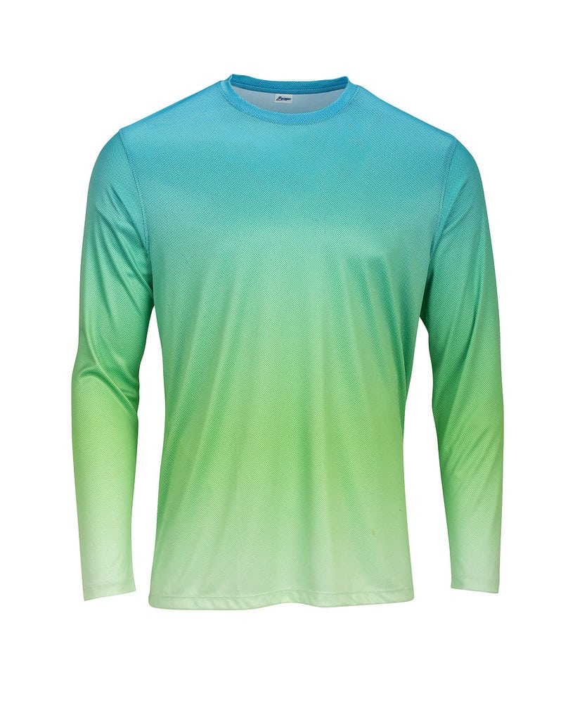 Paragon SM0225 - ParagonXP Barbados Adult Full Sublimated Long Sleeve Performance Tee  Gradient Print