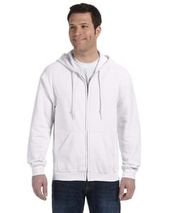 Gildan 18600 - FULL ZIP HOODED SWEATSHIRT 8 oz.
