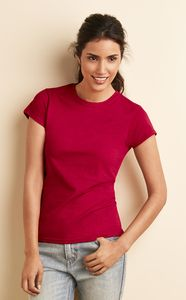 Gildan 64000L - FITTED RING SPUN T-SHIRT FOR WOMEN