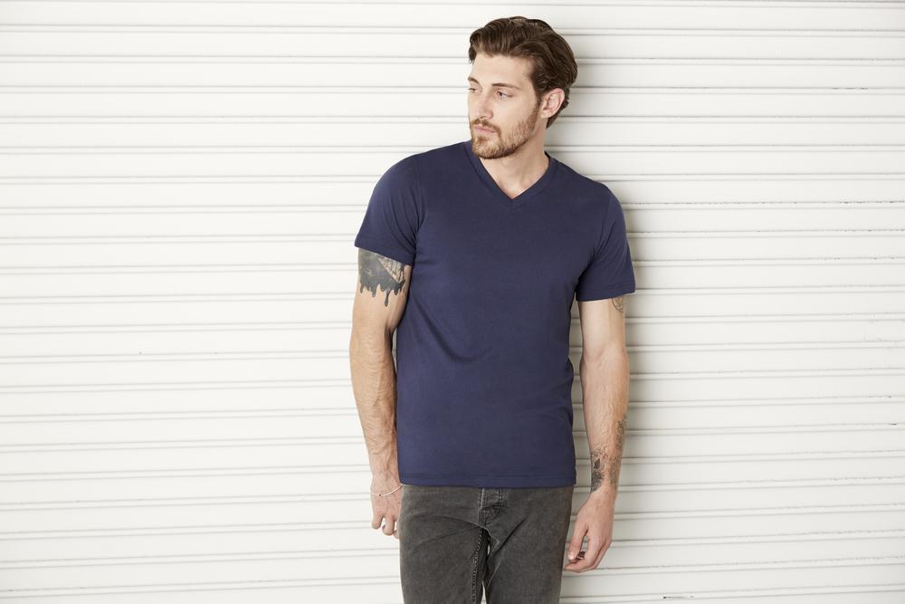 Bella+Canvas B3005 - T-shirt col en V Delancey