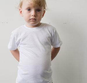 American Apparel 2105 Kids Fine Jersey Short Sleeve T