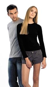 B&C CG151 - Exact 150 T-Shirt Met Lange Mouwen