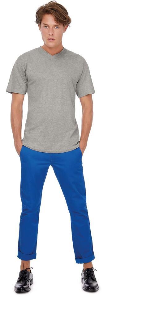 B&C CG153 - T-Shirt Col V Manches Courtes