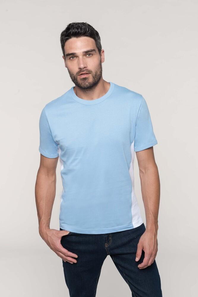 Kariban K340 - Tiger> Tvåfärgad kortärmad T-shirt