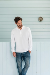 Russell RU569L - Classic Cotton Polo Long Sleeve