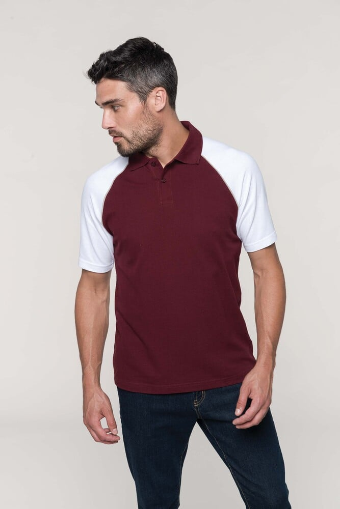 Kariban K226 - POLO BASE BALL - CONTRAST POLO SHIRT