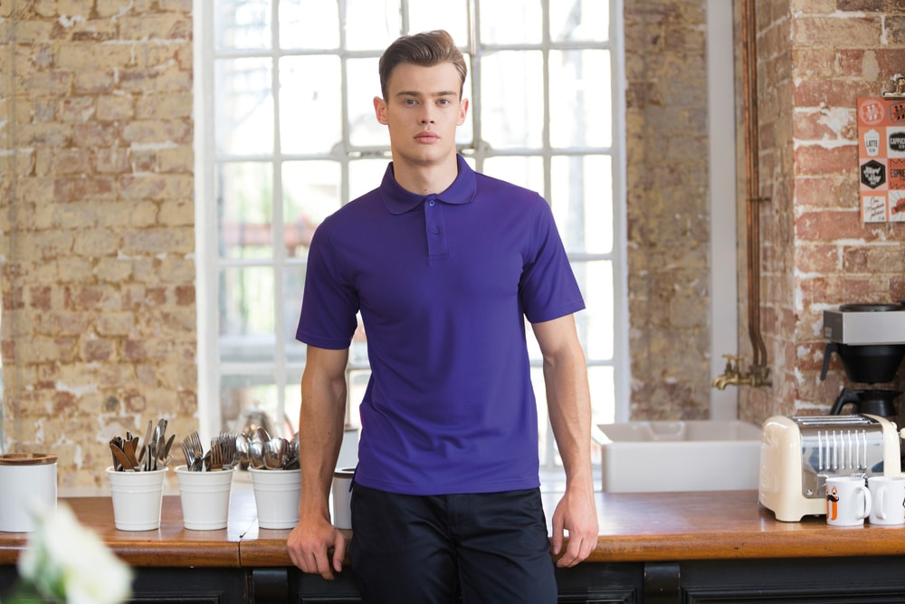 Henbury H475 - Coolplus® Wicking Piqué Polo Shirt