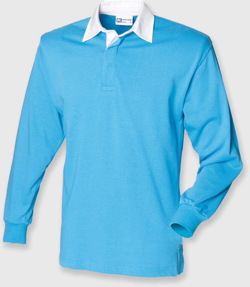 Front Row FR100 - Long Sleeve Plain Rugby Shirt