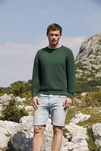 Fruit of the Loom SC4 - Sweat Homme Manches Longues Coton