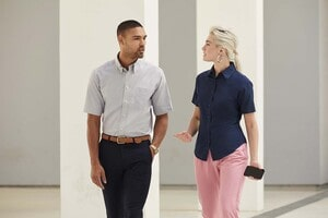 Fruit of the Loom SC65000 - Oxford Bluse