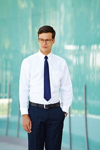 Fruit of the Loom SC65114 - Chemise Oxford Manches Longues
