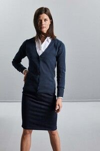 Russell Collection RU715F - Cardigan donna con scollatura a V