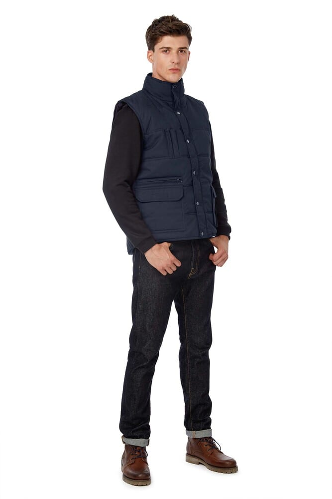 bodywarmer multi-poches