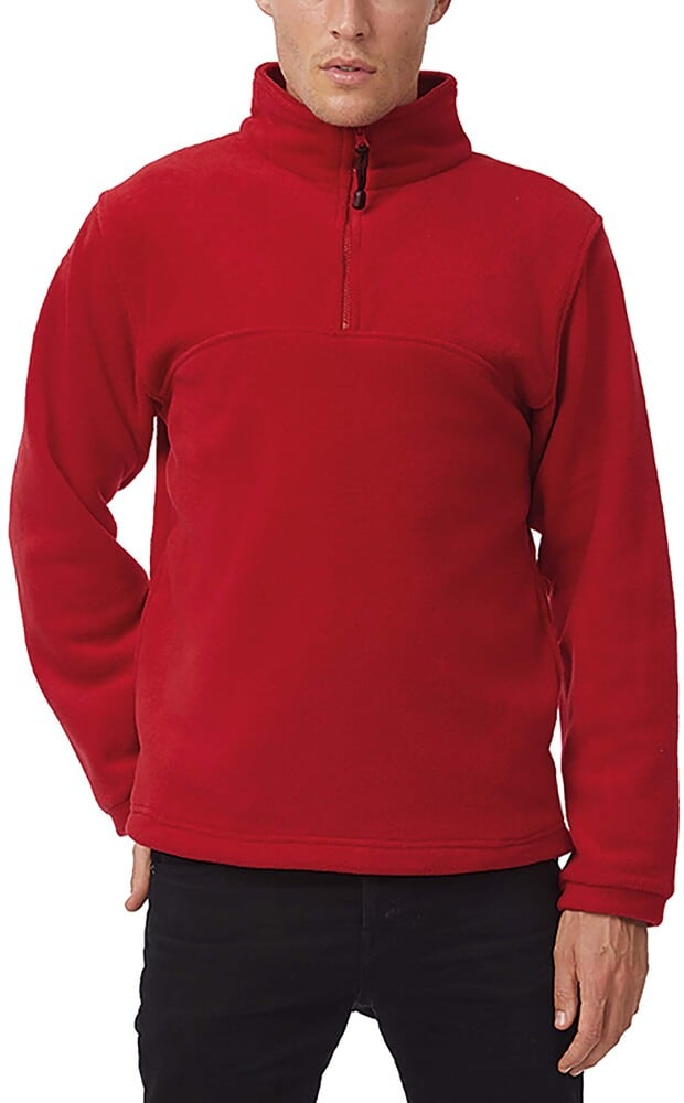 B&C CGHIGH - 1/4 Zip Fleece Top - FU704